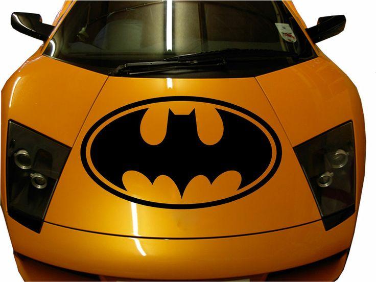 Window Stickers For Cars >> Custom Made Car Hood Batman Premium Decal Sticker Vinyl Sport Auto Truck (HUGE) | Batman ...