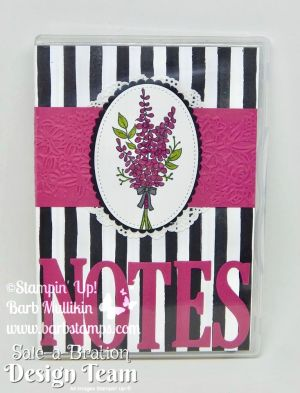 FREE printable project sheet for this Notepad folio is on my blog www.barbstamps.com