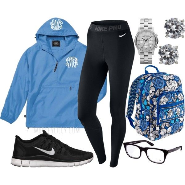 Regular school outfit, created by stylesbowtie on Polyvore