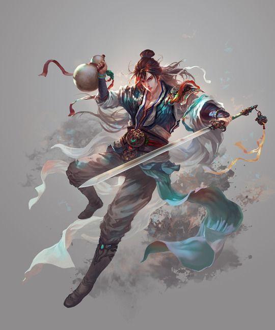 Linghu Chong of The Smiling, Proud Wanderer.