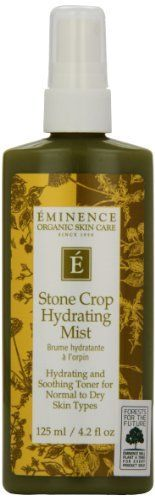 Eminence Organic Skincare Stone Crop Hydrating Mist, 4.2 Ounce *** Insider's special review you can't miss. Read more  : Skincare For Sensitive Skin