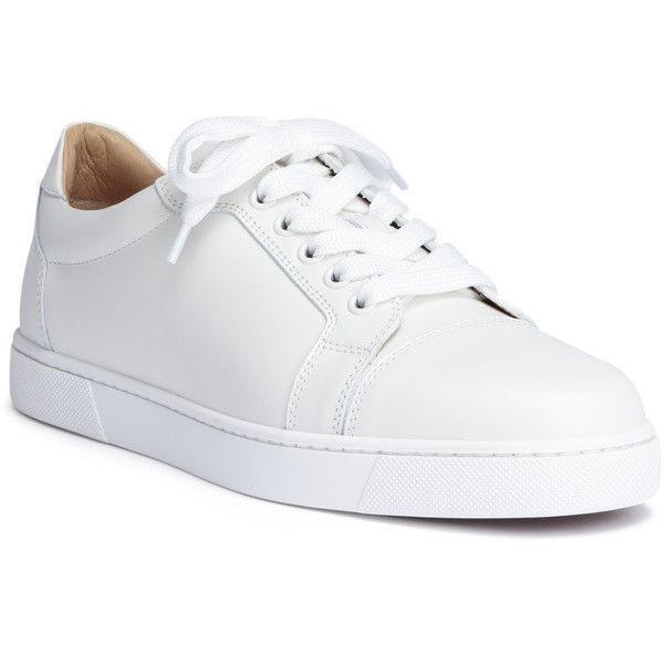 Vieira White Leather Sneakers ($675