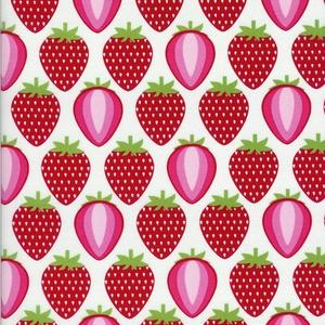 Hoodie - Fruit A La Carte - Strawberry in White