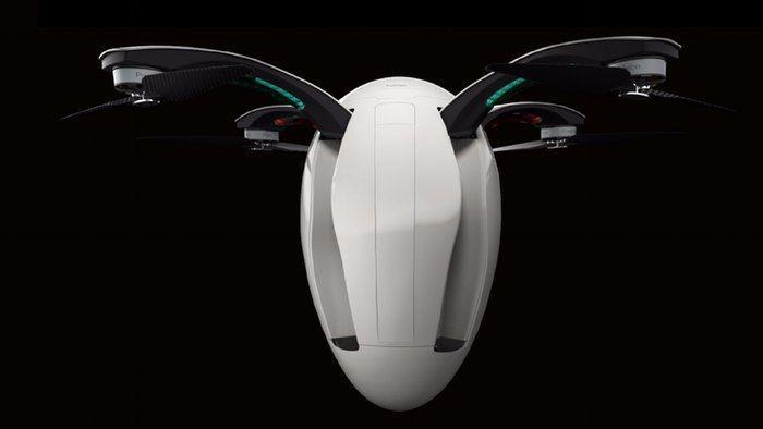 Egg-Shaped Drones - The PowerEgg Drone Encases Sensitive Electronics Inside An Egg-Shaped Shell (VIDEO)