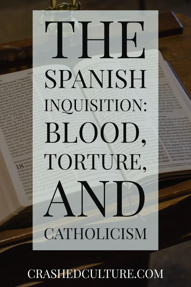 The Spanish Inquisition is a bloody, heinous, and fascinating part of Spanish history. Get the lowdown of what happened, to whom, and why. via @crashedculture