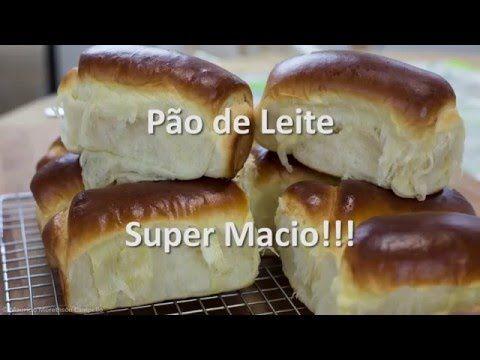 Como fazer Pão de Leite Super Fácil, e muito gostoso! Ingredientes: 550g Farinha de Trigo 90g Açúcar 50g Leite em Pó 20g Fermento Biológico Seco 7g Sal 50g M...