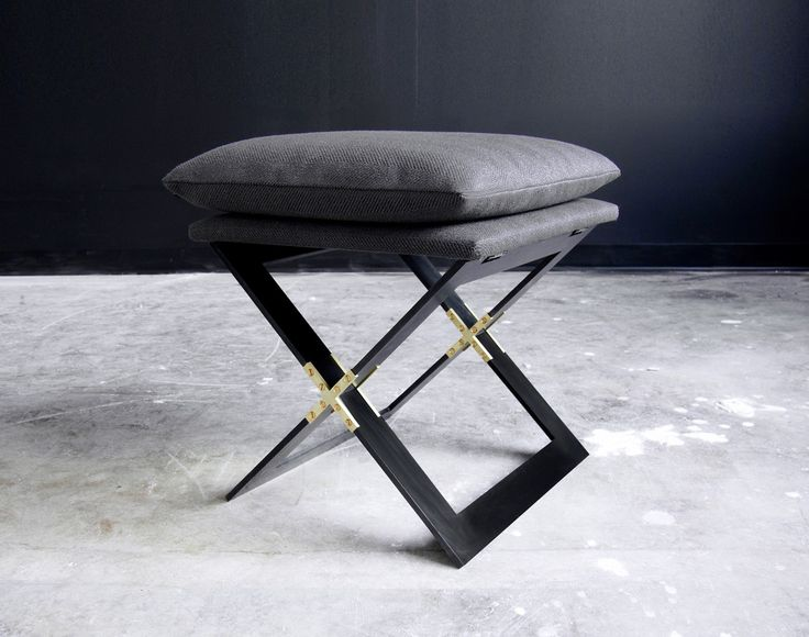 GABRIEL SCOTT | Marx Stool (Black)