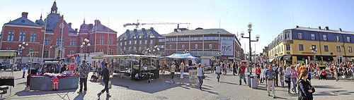 Umea_downtown panorama
