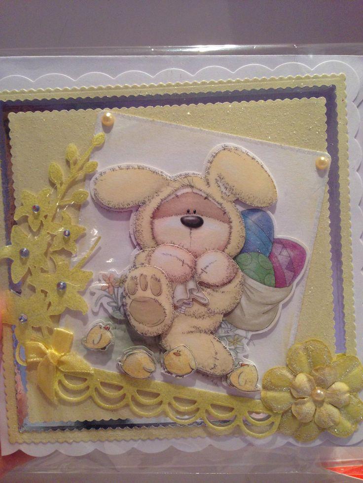 Easter card, spellbinders