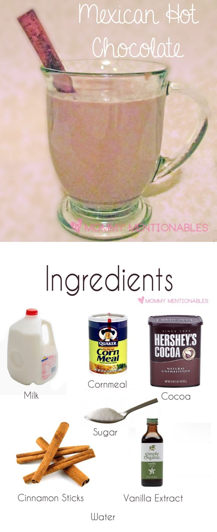 How to make Mexican Hot Chocolate. (Champurrado) A delicious hot chocolate drink. #recipe #hotchocolate #sweetdrinks
