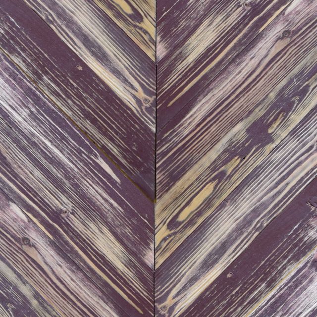 These Pecan Brown Painted Chevron pine barn sidings are colour washed with paint giving the resemblance of faded façades. Endless combinations of the colours below are available.