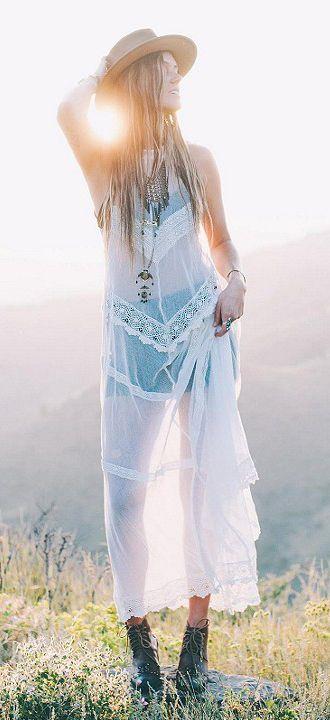 Sheerness boho chic, bohemian style, gypsy look, beautiful!