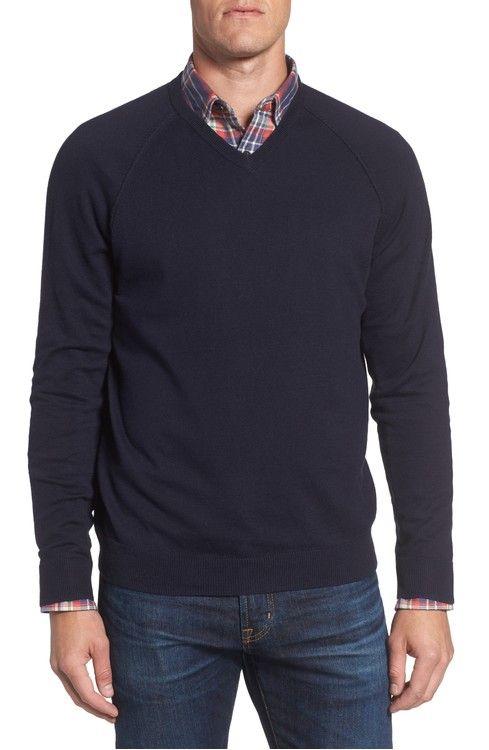 371b34bf01c5 Main Image - Nordstrom Men s Shop Saddle Shoulder Cotton   Cashmere ...