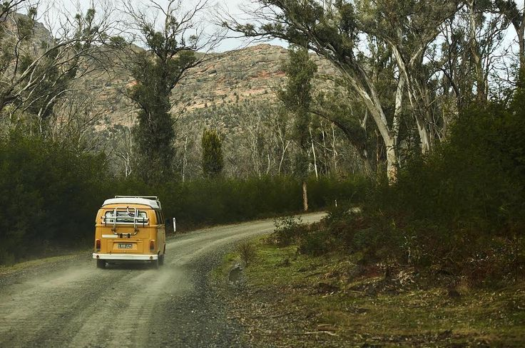 Hitch a ride through the Grampians. The Old Girl's second home. by @samuel_costin