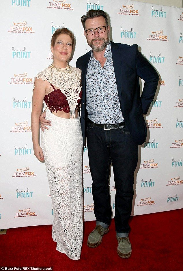 Expecting: Tori Spelling and husband Dean McDermott are expecting their fifth child, she has announced