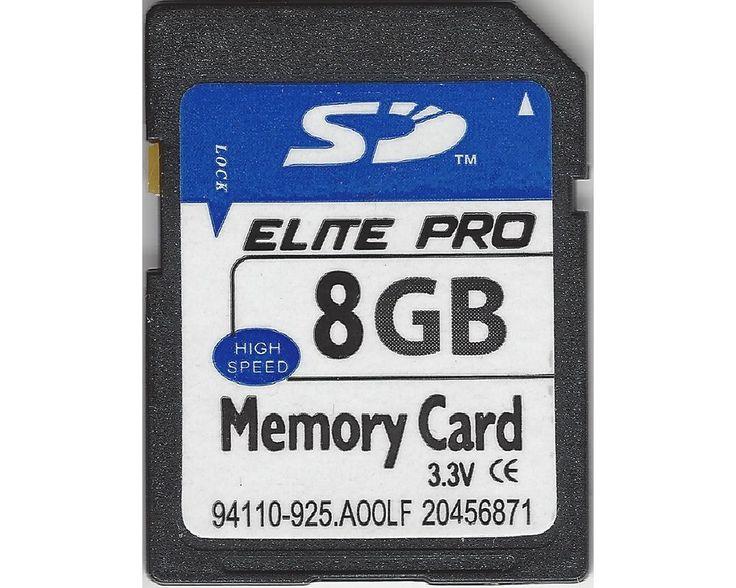 Elite Pro Speicherkarte SDHC 8GB Class 10 high Speed