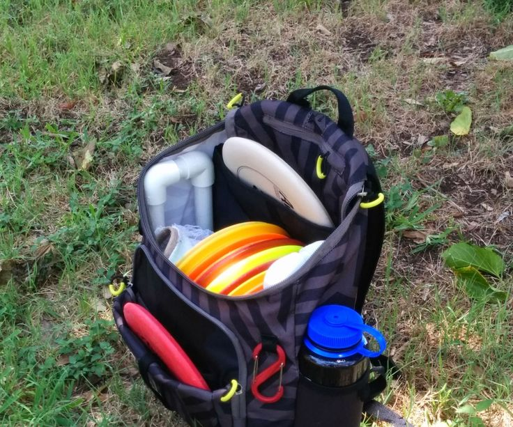 Disc bags are either tiny and cheap or crazy expensive. If you want a back pack style bag you are going to easily pay $150 plus. I came across this picture of a bag used by redditor martial_arts. After poking around on bag-related posts on r/discgolf I came across this post in DG Course Review that describes how to hack a cheap backpack from Target. I only made one small modification to the original design to add an additional storage area in the bag. All things considered this version cost…