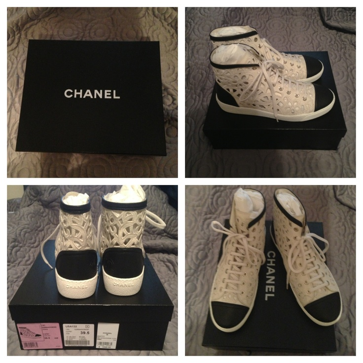 New Chanel shoes arrived