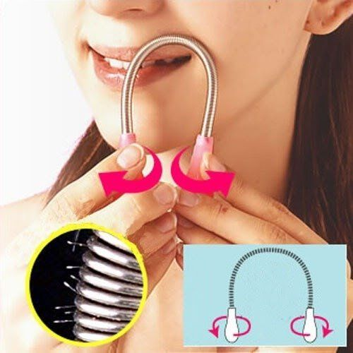 """Fashion Girl Facial Hair Epicare Epilator Epistick Remover Threading Stick Tool by MyGoal2012. $2.99. Brand new & Safe and hygienic. Original threading facial hairs remover. Pen size and light weight,. Removes hair root for long lasting hair-free complexion. Material: stainless steel coil spring and plastic handles. Easy to Use: Bend the stick into an inverted """"U"""" and place it against the hairs you want to remove Hold the handles, twist the stick in opposite di..."""