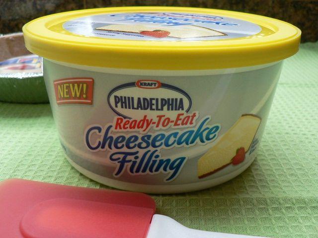 Philadelphia Ready To Eat Cheesecake Filling: Philadelphia Ready-To-Eat Cheesecake Filling