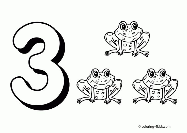 11 best Places to Visit images on Pinterest Coloring books - best of number 3 coloring pages preschool
