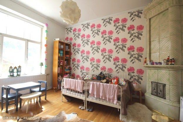 Myytävät asunnot, Puutarhakatu 7, Turku #oikotieasunnot #lastenhuone #kidsroom