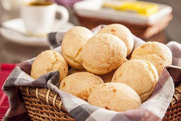 Receita de Pão de Queijo Fit
