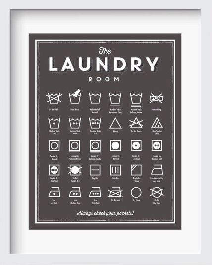 very helpful Laundry Room guide