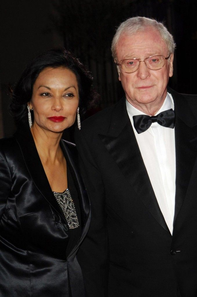 Shakira and Michael Caine. Always together.