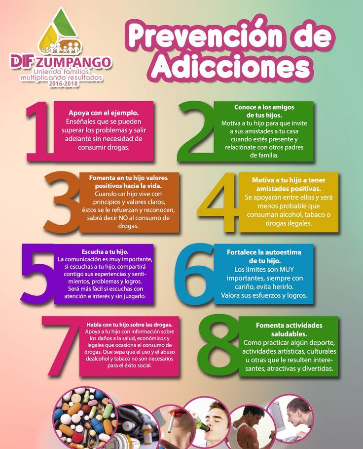 El cariño y la atención hacia los menores, juegan un papel muy importante en la prevención de las adicciones. Si los niños y niñas crecen con amor y seguridad, si tienen confianza para comunicarse, si se sienten comprendidos y valorados, pero además en la familia no hay adicciones, será difícil que busquen el camino de las drogas. DIF Zumpango tiene en el área de Prevención de Adicciones en un horario de 9 a 6 pm. #DIFZumpango #MultiplicandoBienestar #PsicologiaDIFZumpango