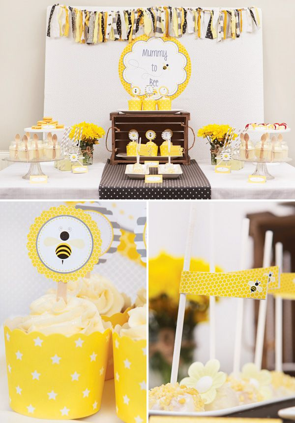 Sweet Mummy To Bee Spring Baby Shower