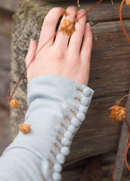 beautiful sleeve details