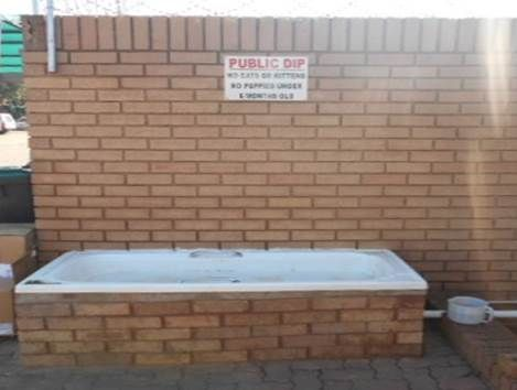 JSPCA DIP-BATH: OPEN FOR THE PUBLIC TO USE FOR THEIR DOGS https://www.facebook.com/jhbspca/photos/a.131816133535481.44413.128271220556639/1079935765390175/?type=3&theater