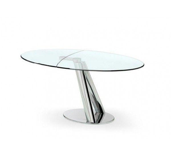 Tavoli In Cristallo Allungabili Reflex.Pin Su Tavoli