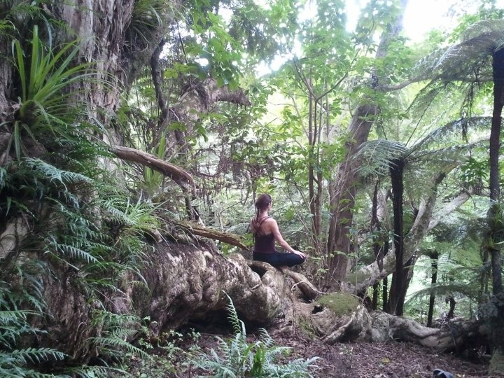 jude from auckland yoga academy in we'ar yoga clothing