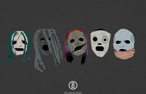SlipKnoT Masks Evolution