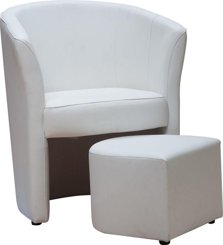 Ce fauteuil cabriolet avec pouf IBIZA vous séduira grâce à son design tendance et ses formes tout en rondeurs...
