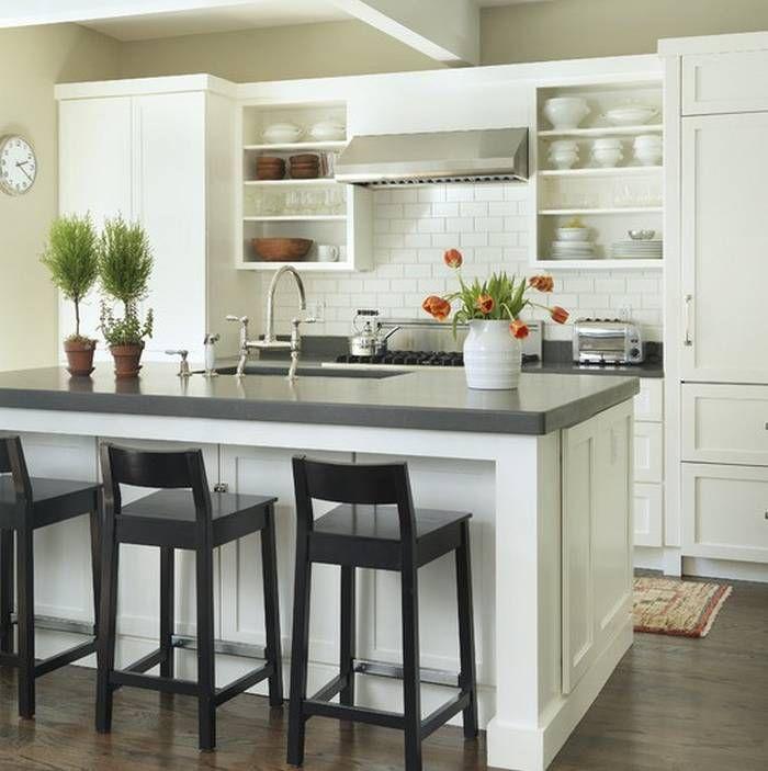 Beautiful White Colors Kitchen