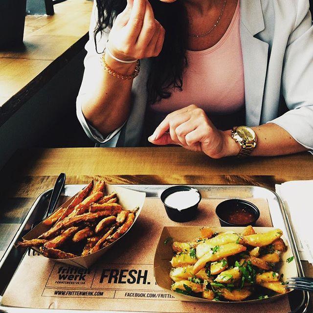 FRIES BEFORE GUYS. Frittenwerk - Die Pommesmanufaktur. Düsseldorf. Fresh Food Fast. Streetfood. fries, fritten, pommes, delicious, lunch, imbiss, düsseldorf, bilk, germany, restaurant, fresh food fast, fries before guys, cheese, poutine, canadian, street food,