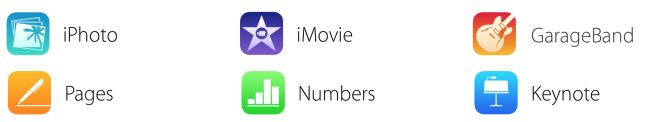New iOS iWork & iLife icons/features appear on Apple's website, GarageBand going free with in-app-purchases