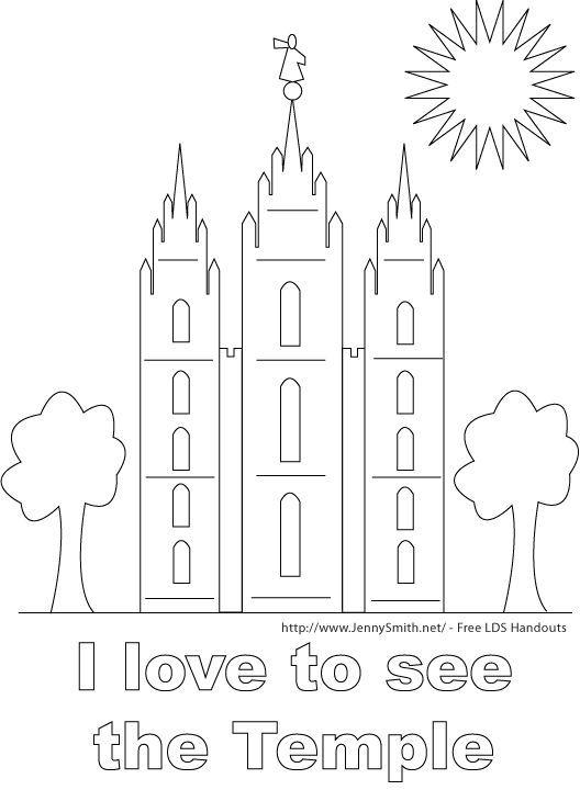 18 mejores imágenes de LDS Primary Coloring Pages en Pinterest ...