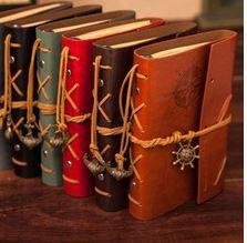 ビンテージレザージャーナルノート2015古典的なレトロなスパイラルリングバインダーカスタムロゴの印刷日記帳ギフト…