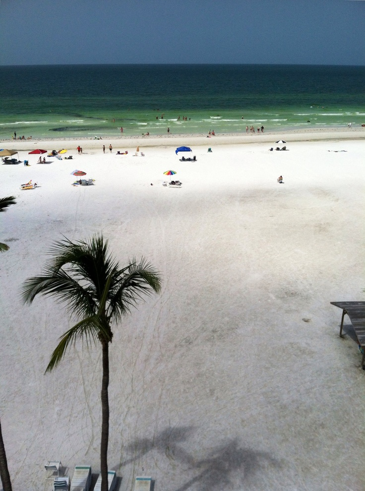 Siesta Key Beach, Florida, voted one of the ten best beaches.  Baby powder sand.