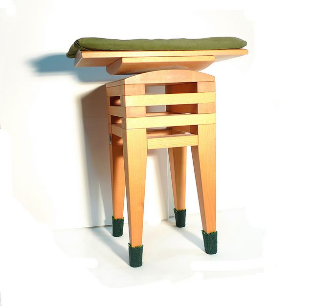 inspiration for scrap wood stool