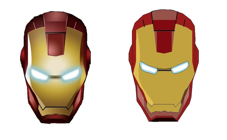 melting iron man mask-#25
