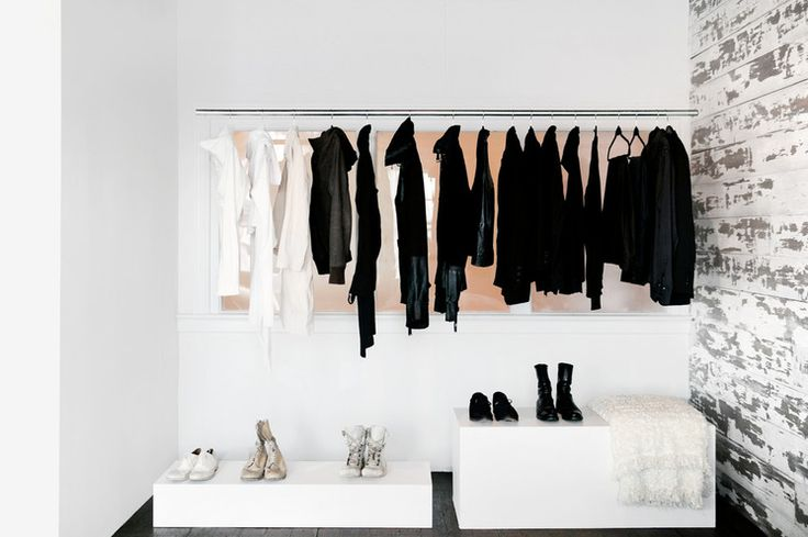 Love this closet!!! And monotoned wardrobe lets you play with accessories!!!