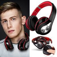 Wish   Mpow on-Ear Wireless Bluetooth Headphone Noise Cancelling Stereo Foldable Headband Ergonomic Soft Earmuffs Built-in Mic13 Hours Playback Time for PC Laptops Smartphones