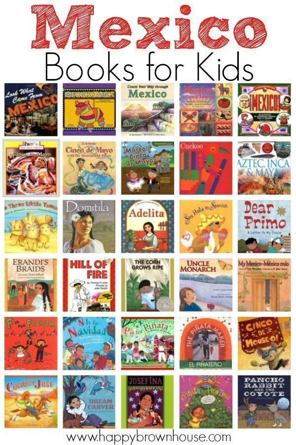 0f44fd0851016 Mexico Books for Kids--great book list to go with studying world cultures
