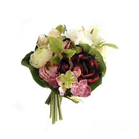 Artificial Mixed Flower Bundle | Dunelm