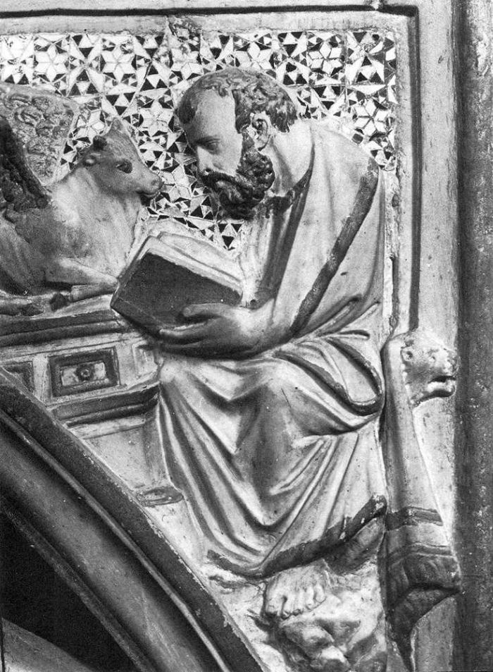 Tabernacle (detail) by ARNOLFO DI CAMBIO #art